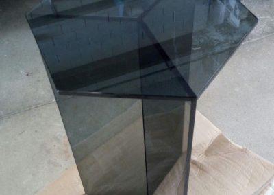 Mesita de cristal