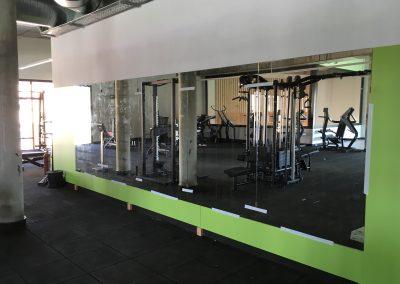 Espejos de gimnasio