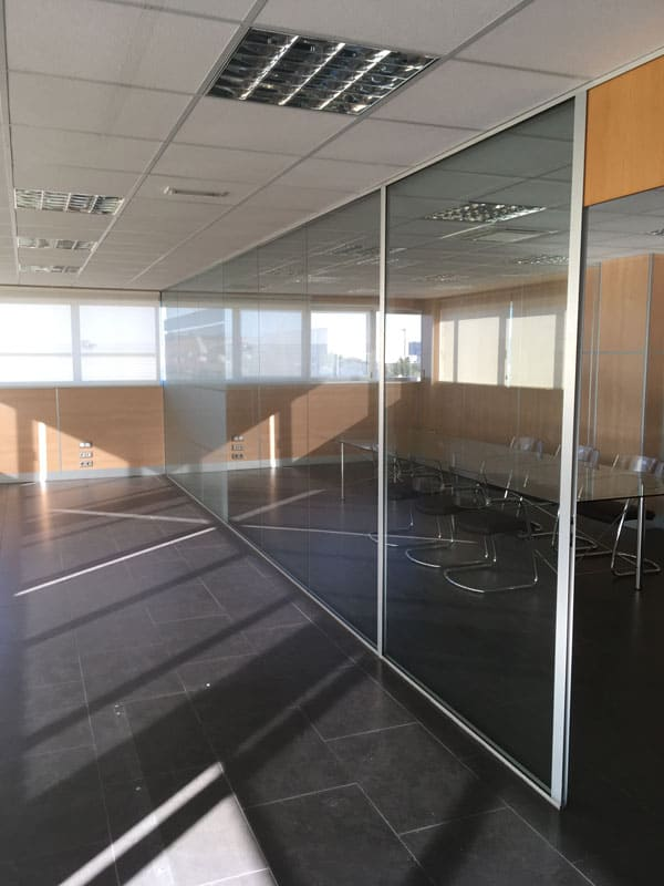 División despacho cristal