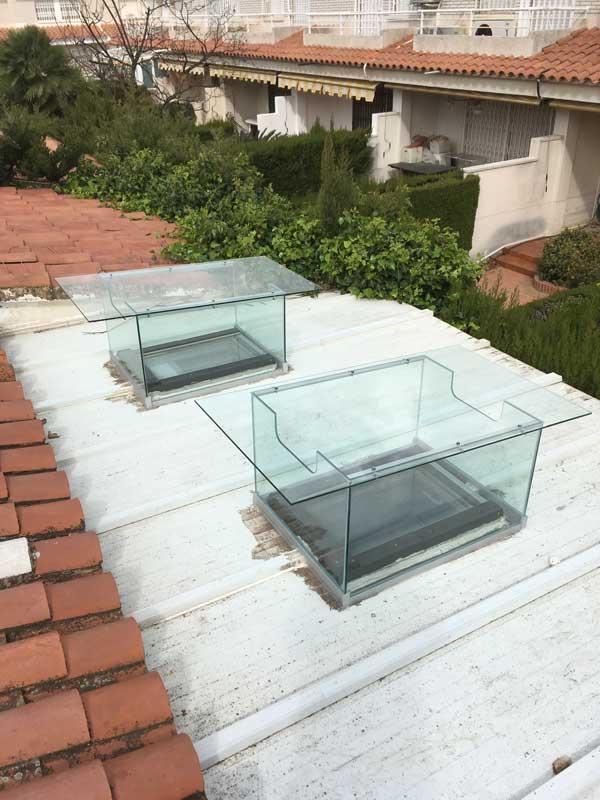 Claraboyas cristal